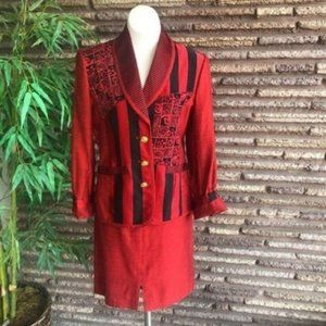 Canvasbacks Lutton Horsfield Vintage Red Suit